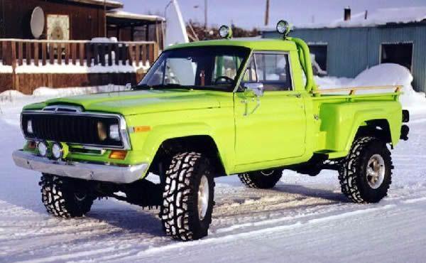 The Amc Forum J10 Honcho Sportside Jeep Pickup Truck Jeep