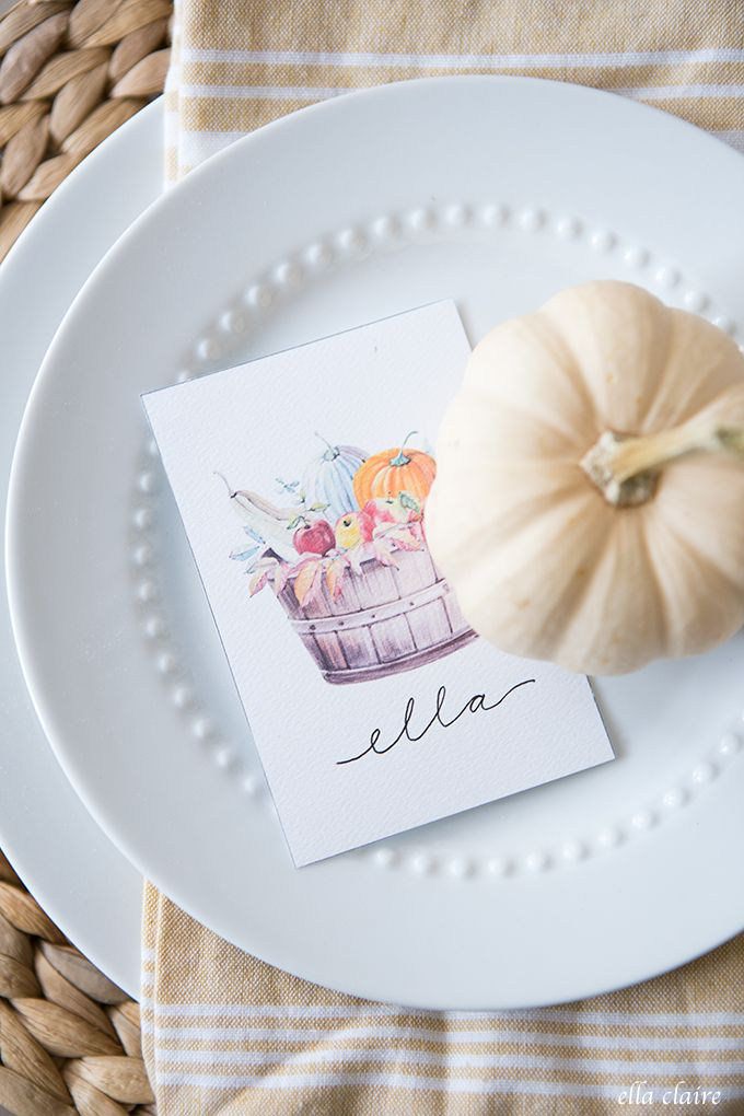 30+ Free Fall Printables to Decorate and Entertain - Ella Claire & Co.