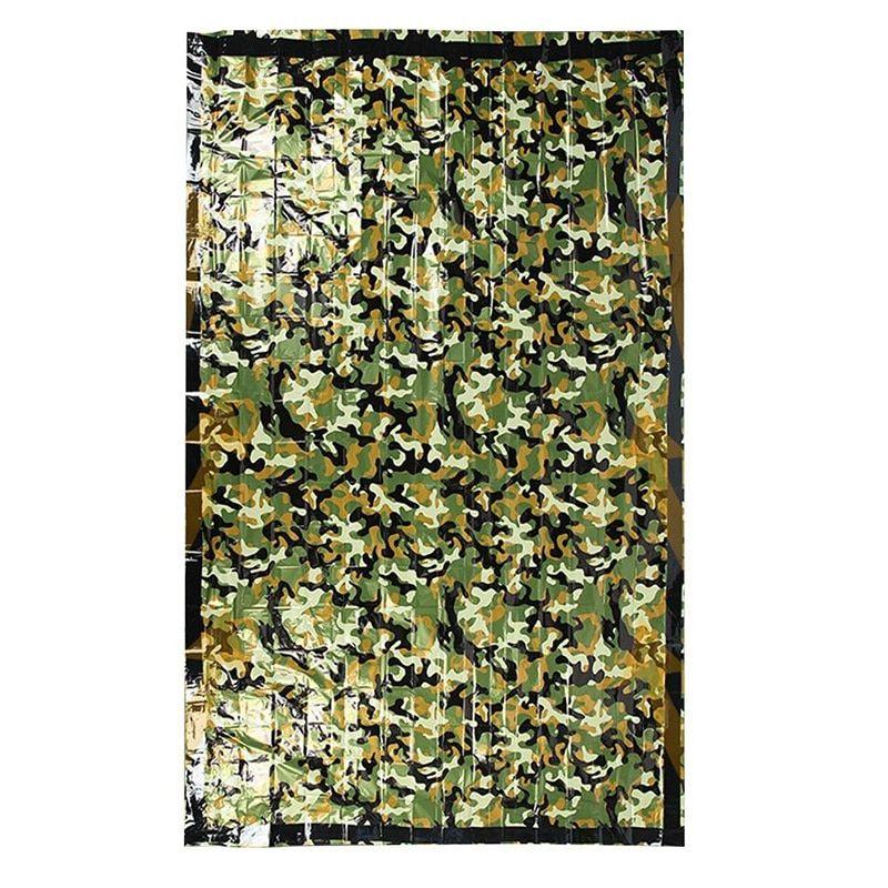Camouflage Emergency Blanket
