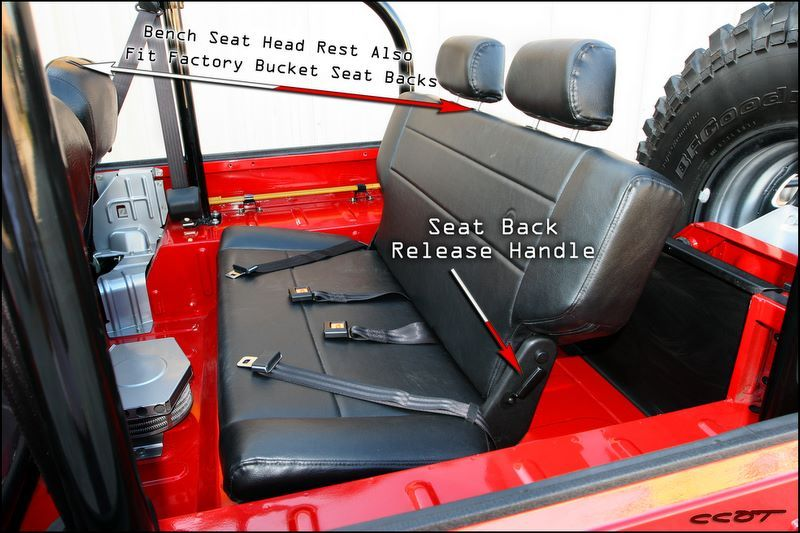 Bench Seat Installation 65 To 78 Fj40 And Bj40 Toyota