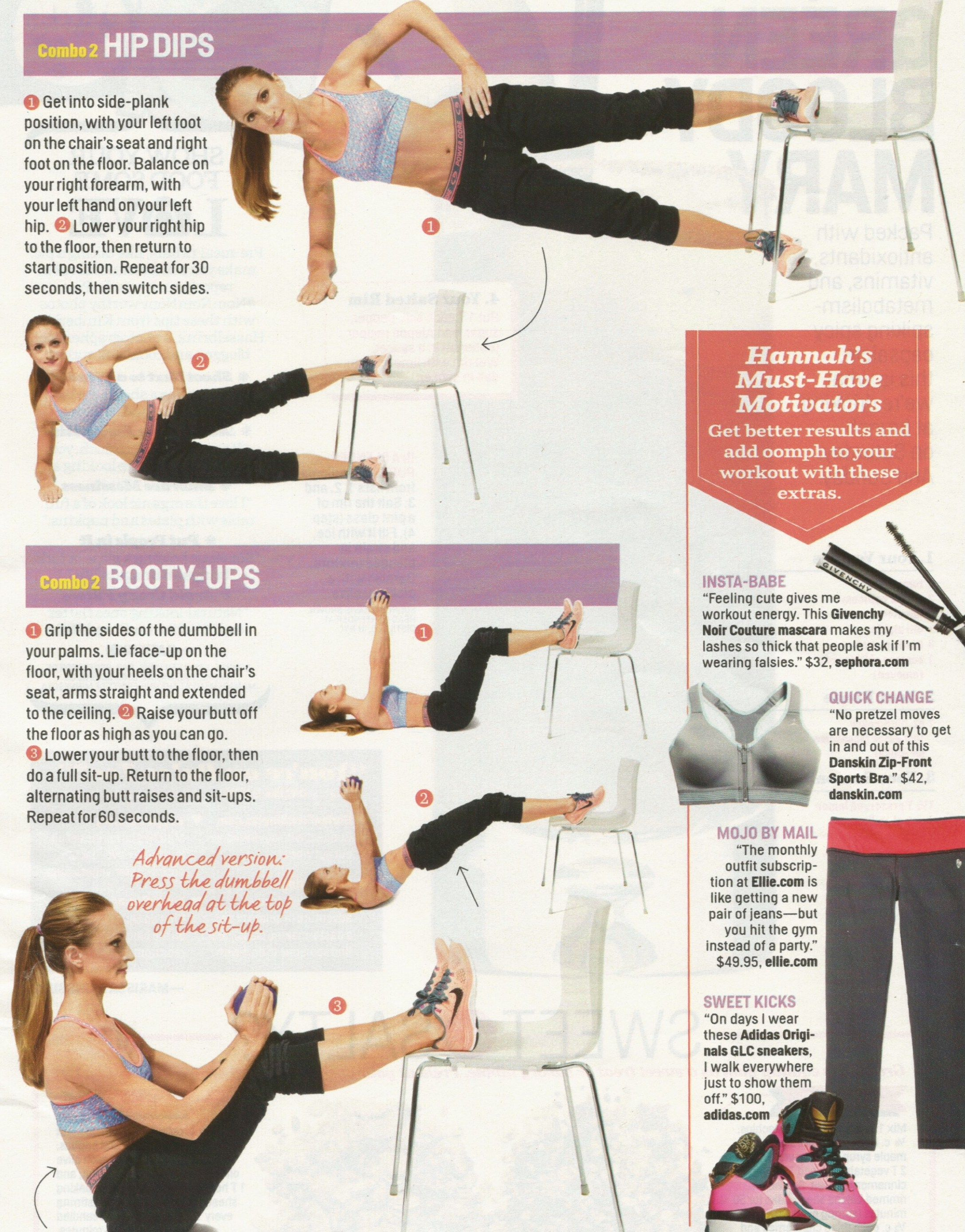 The Workout You Ll Actually Do Part 2 Hips Dips Workout Left Handed