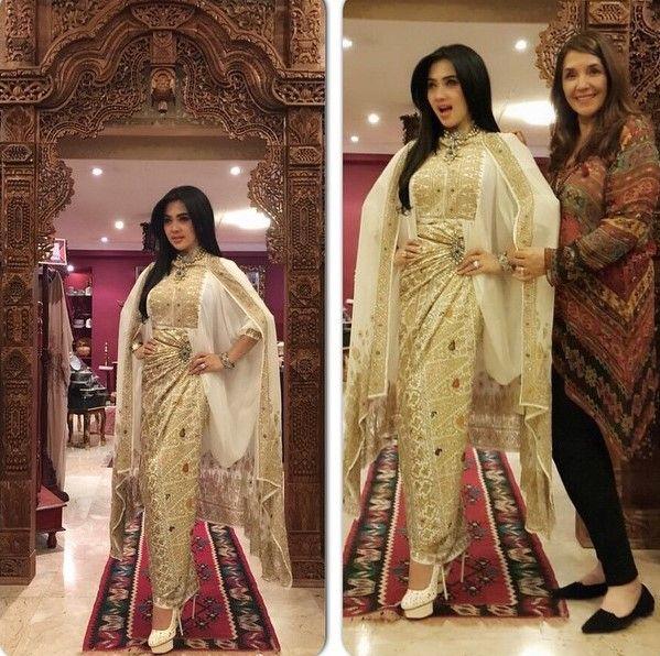Model Baju Songket Mewah Songket Fashion Kebaya Model