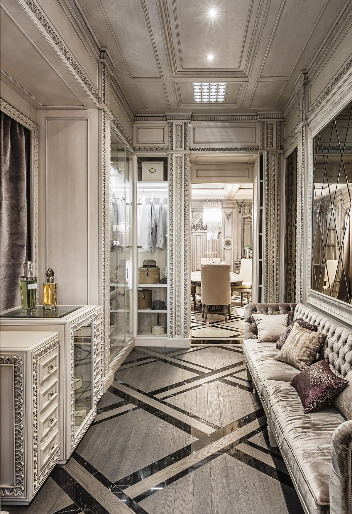 Neoclassical And Art Deco Features In Two Luxurious Interiors   Home Decor  Designs