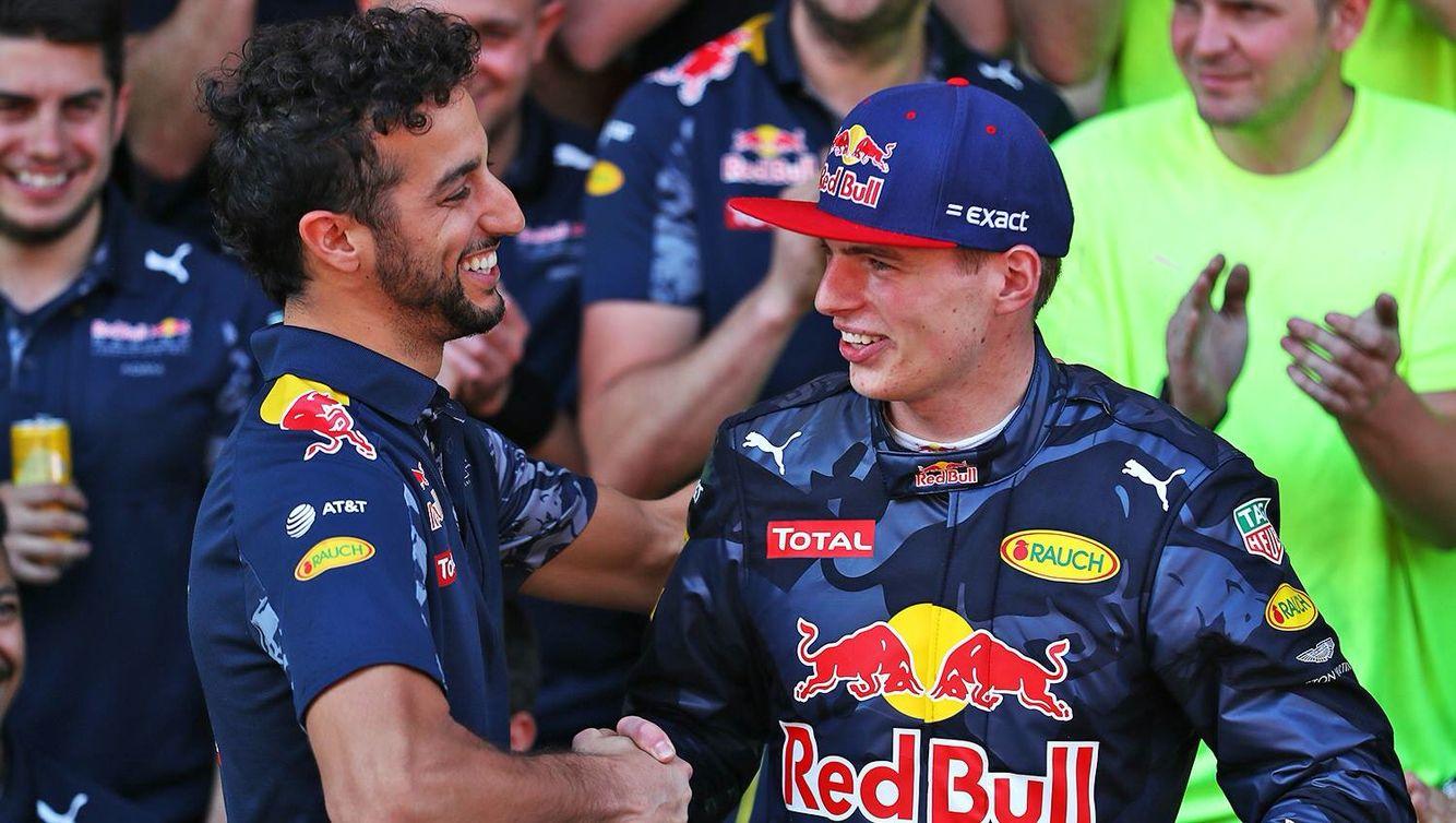 Ricciardo & Verstappen Barcelona 2016