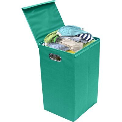 Hashtag Home Sorter Foldable Laundry Hamper Colour Teal In 2020