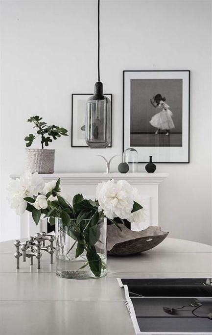 White home with lots of green also best interior images in rh pinterest