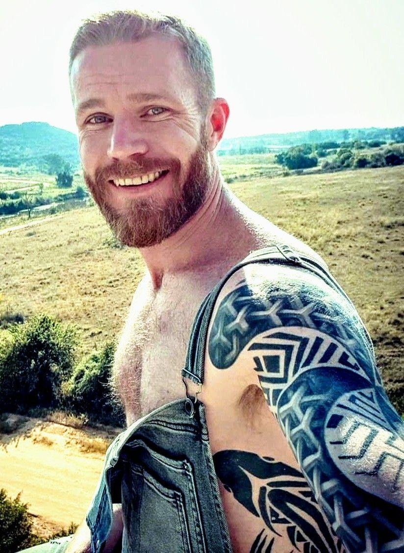 random hottie   Hot country men, Inked men, Hair and beard styles