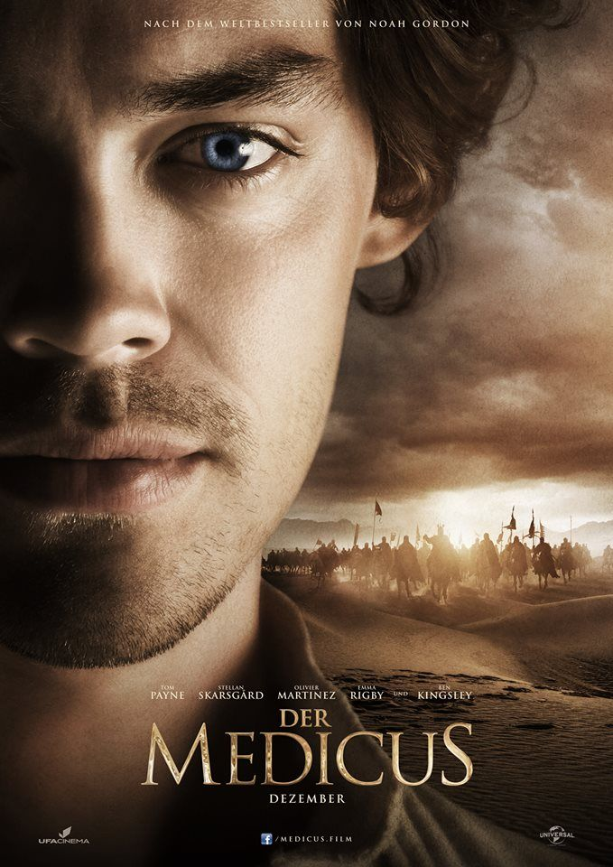 The Physician film teaser poster German edition Tom