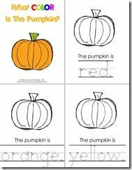 FREE Preschool Printables Pumpkin Patch Preschool Pack