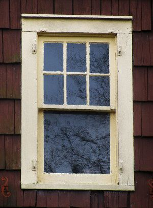 Historic Arts Crafts Window Tdl True Divided Light Double Hung Six Over One Sash