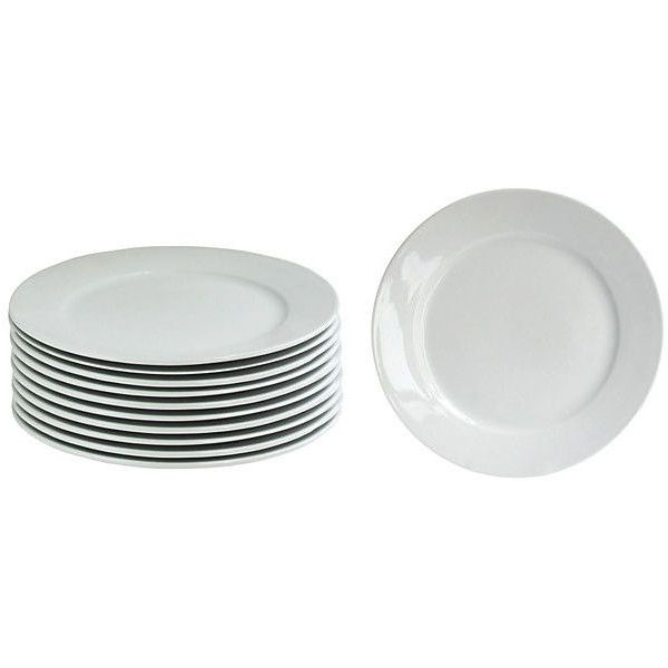 One Kings Lane Bistro 10  Dinner Plate Coupes S/12 Dinner Plates ($57  sc 1 st  Pinterest & One Kings Lane Bistro 10