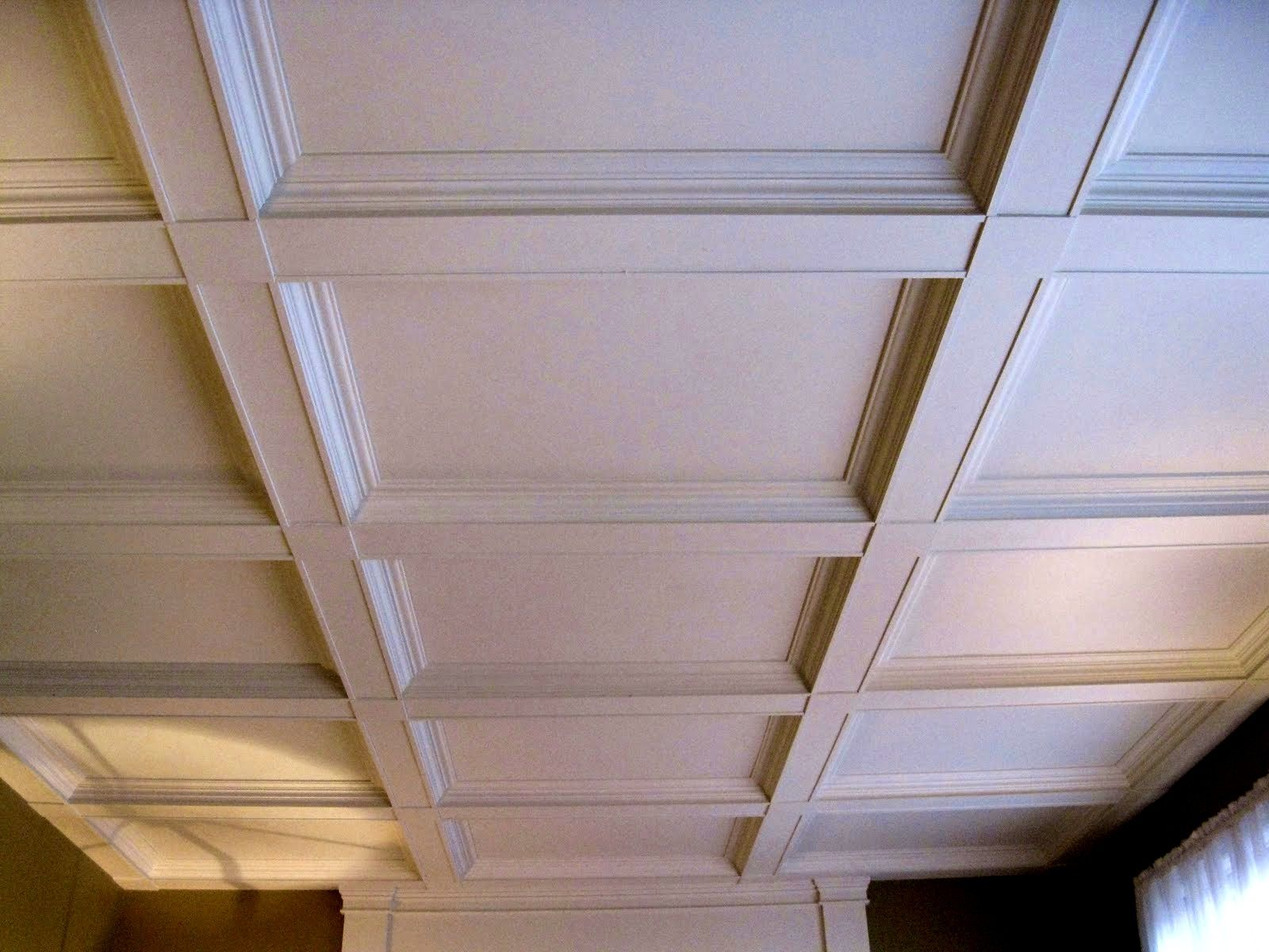 How to build a coffered ceiling - Furniturelicious Images About Faux Coffered Ceiling Ideas Shallow Fecfbbbbbbc Marvelous How Build Coffered Ceiling This Old