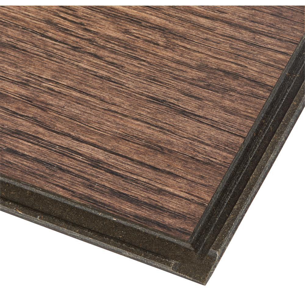 Bruce Hydropel Oak Dark Brown 7 16 In T X 5 In W X Varying Length Waterproof Engineered Hardwood Fl In 2020 Engineered Hardwood Engineered Hardwood Flooring Flooring