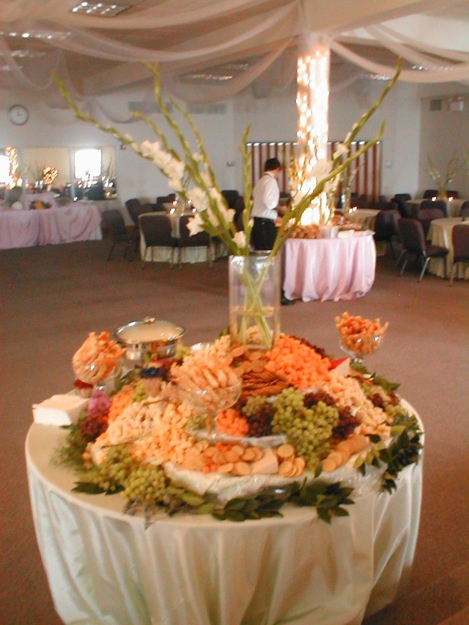 Hors De Vours Buffet Quantity List For 225 To 250 People Wedding