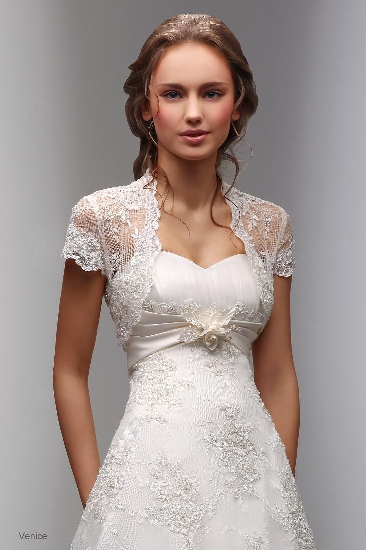 Wedding dress cardigan  lace dresses with sleeves   the Look of Exquisiteness  lace