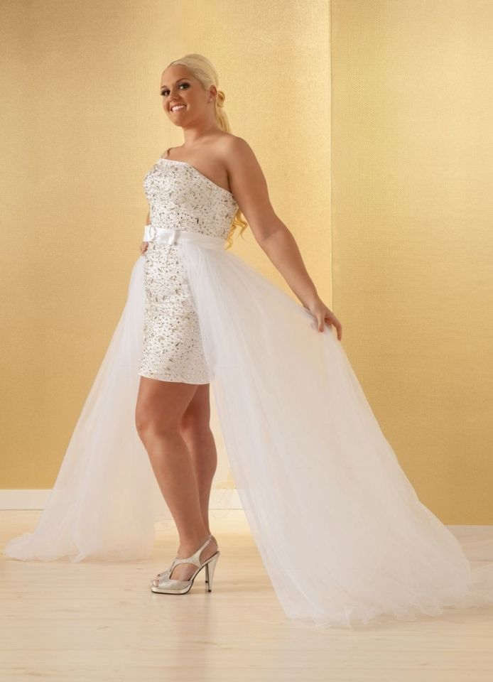 reception dress | Plus size wedding reception dresses for ...