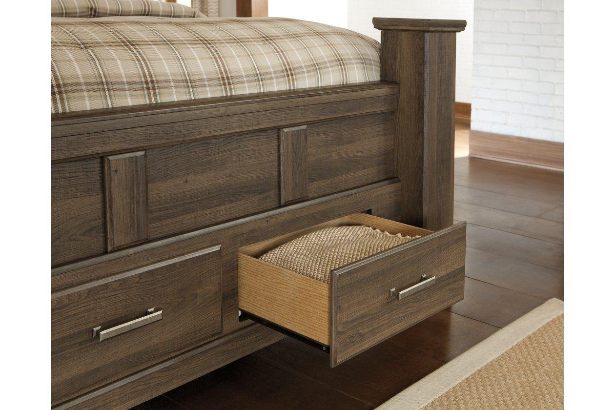 juararo queen bedroom set juararo queen poster bed with 2