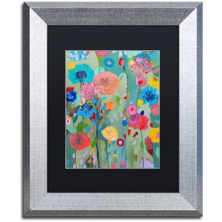 Trademark Fine Art Dreamscape Canvas Art by Carrie Schmitt, Black Matte, Silver Frame, Size: 11 x 14, Multicolor