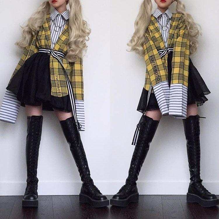 Yurinaoto Fashion Outfits Kawaii Clothes Fashion