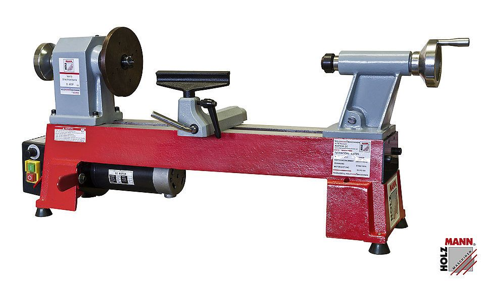 Holzmann-Maschinen Drechselbank »D 460F« | Woodturning