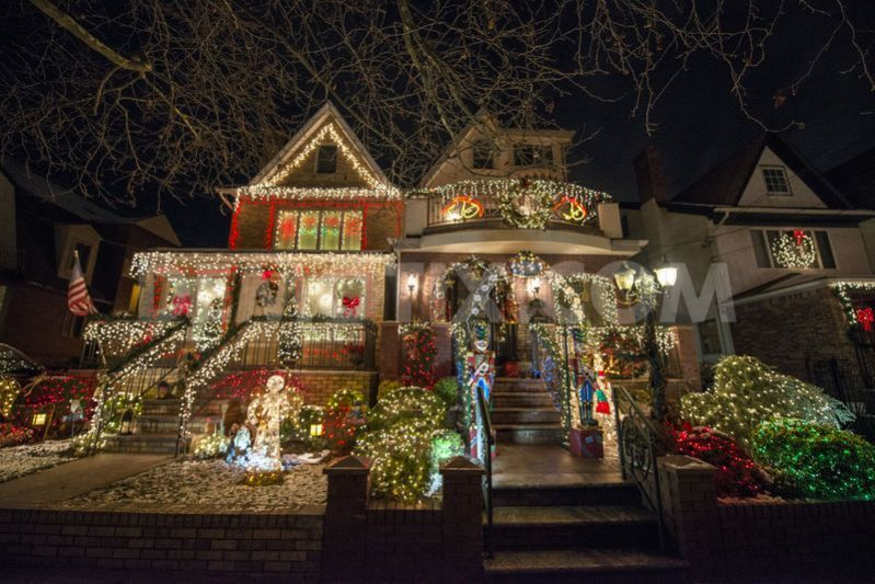 dyker heights christmas Google Search House styles
