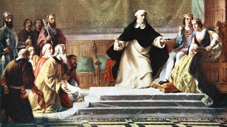 Am 31.03.1492 unterzeichnet das spanische Königspaar Isabella I. und Ferdinand II. das Alhambra-Edikt - das erste antijüdische Staatsdokument Europas.