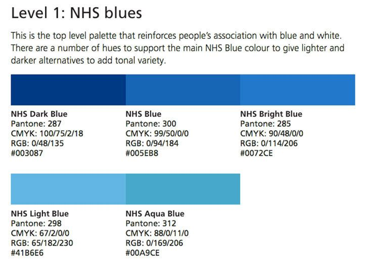 Image Result For Nhs Blue Color Palette Blue Colour Palette Nhs
