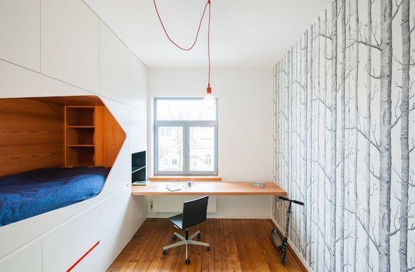 Minimalist apartment designed by van staeyen interieur