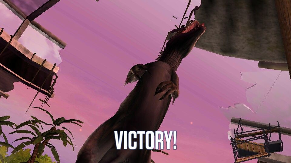 Victory stand
