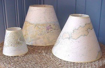 Dress Up Your Nautical Interiors With A Nautical Chart Lampshade