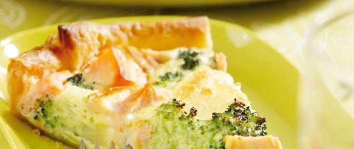 Quiche met zalm en broccoli Recepten Recepten, Voedsel
