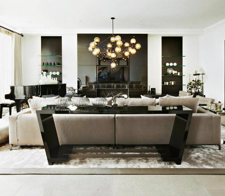 10 living room design projects by Kelly Hoppen | Discover More:  http://homedecorideas.eu