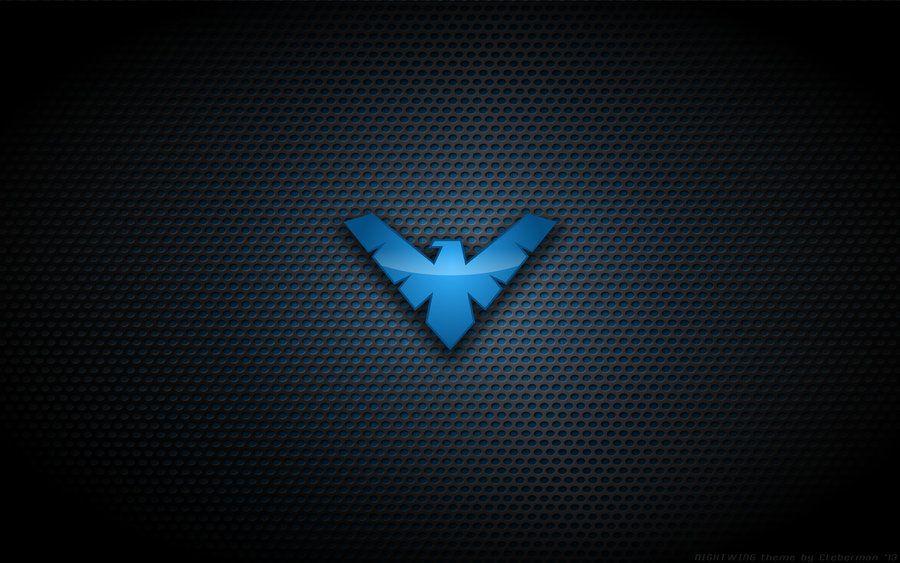 Wallpaper Nightwing Tnba Logo Nightwing Nightwing Wallpaper Nightwing Young Justice