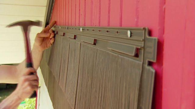 How To Install Vinyl Shake Siding Diy Home Repairs