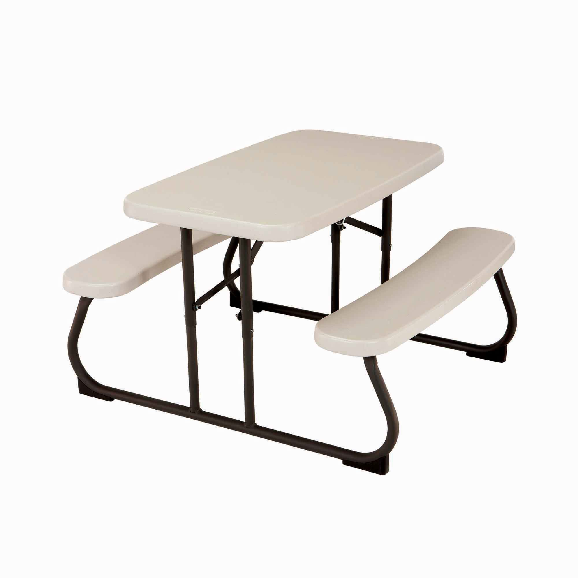 into and gallery lifetime down single a escape set decoration ideas of urban picnic tables folds folding table bench luxury collapsible