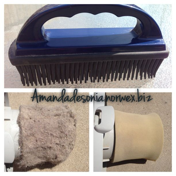 norwex rubber brush remove pet hair from furniture and car interi norwex simplified. Black Bedroom Furniture Sets. Home Design Ideas