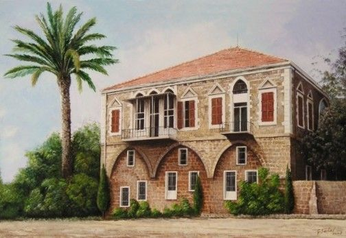 Lebanese Houses Architecture Architecture House Architecture House Traditional lebanese house plan