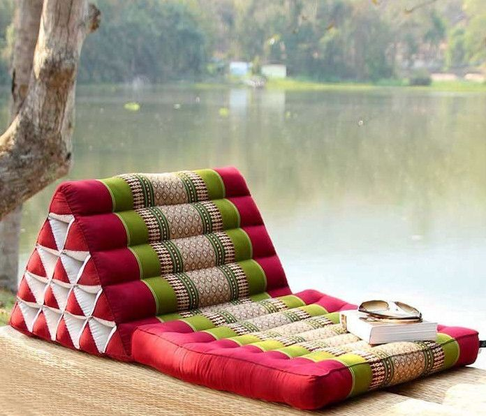 large pillows for floor seating | Outdoor spaces | Pinterest | Floor ...