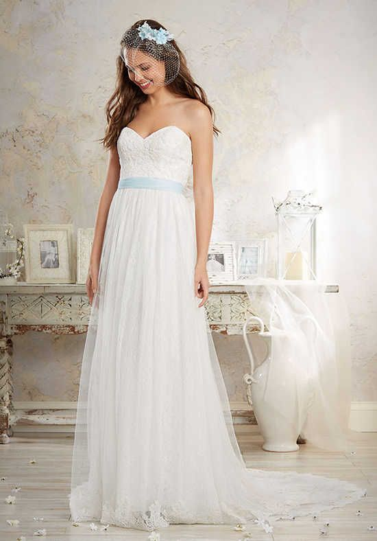 Alfred Angelo Modern Vintage Bridal Collection 8549 A Line Wedding Dress