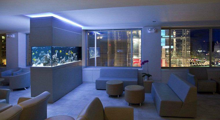 Aquarium Design Idees Originales De Meubles Aquarium Room Design Living Room Designs Aquarium Design