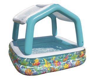 Intex Sun Shade Pool Baby Pool Inflatable Pool Children