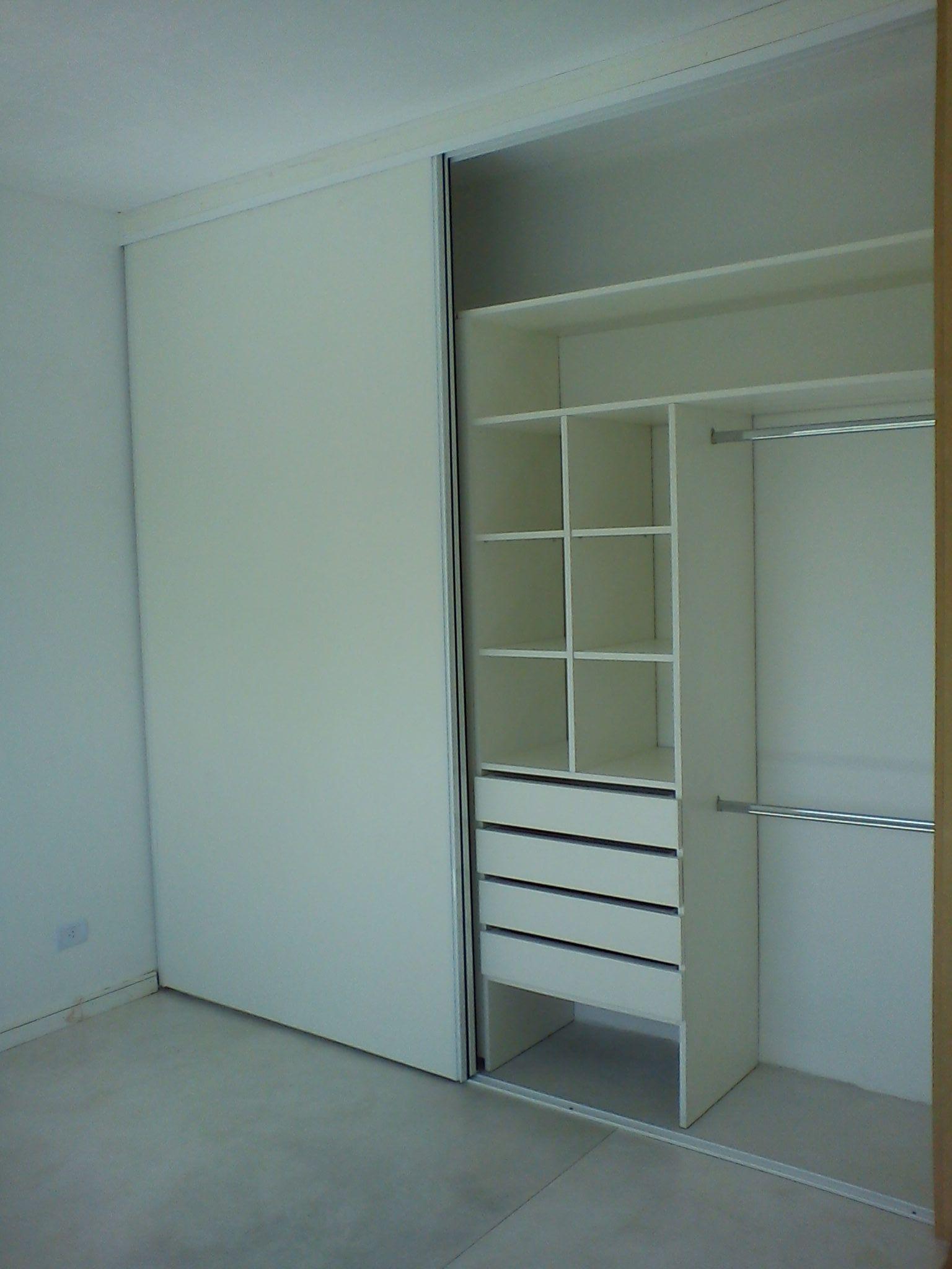 Interior / Frente En Melamina Blanca