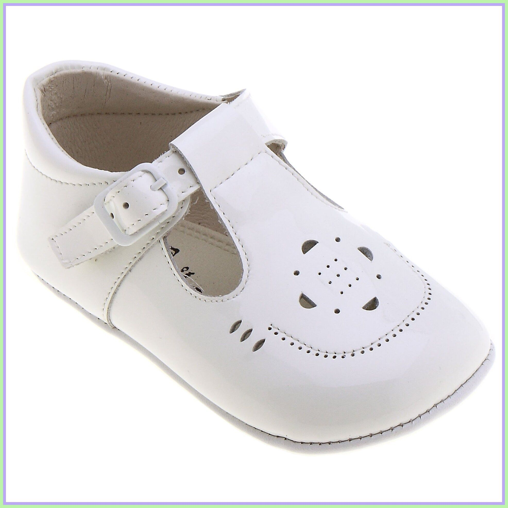 115 reference of baby white t bar shoes