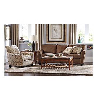 The Maddie Sofa Collection From Broyhill Is Versatile, Comfortable And The  Accent Pieces Liven Up