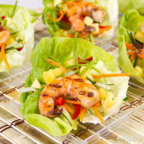 shrimp lettuce cups