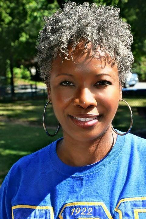Shannon S Big Chop 2014 In 2019 Natural Hair Styles Grey