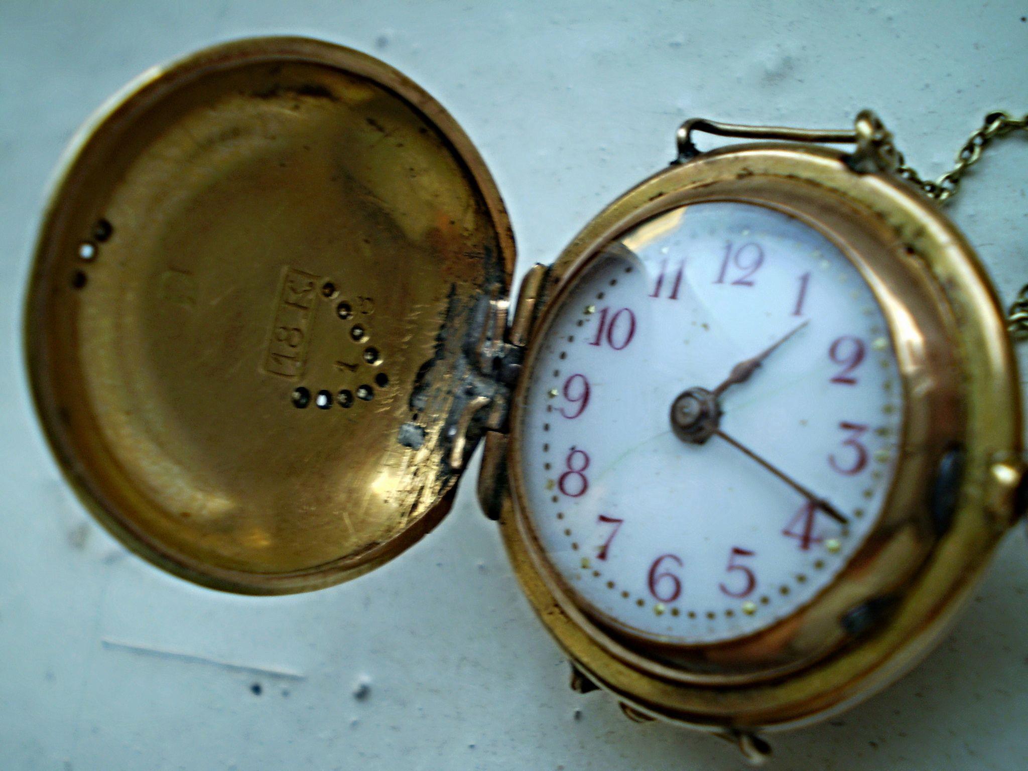 Cronómetro Antiguo Prendedero en 2020 | Relojes antiguos