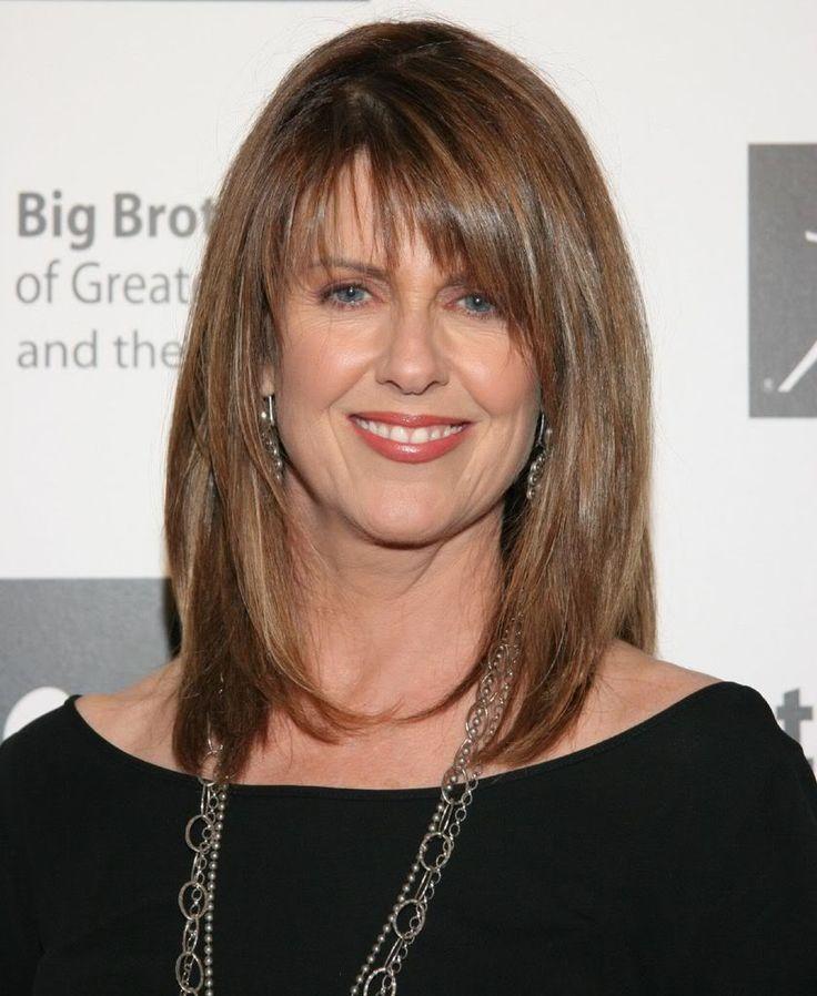 Pam Dawber People Page Pinterest Bangs With Medium Hair Haircuts For Medium Hair Bombshell Hair