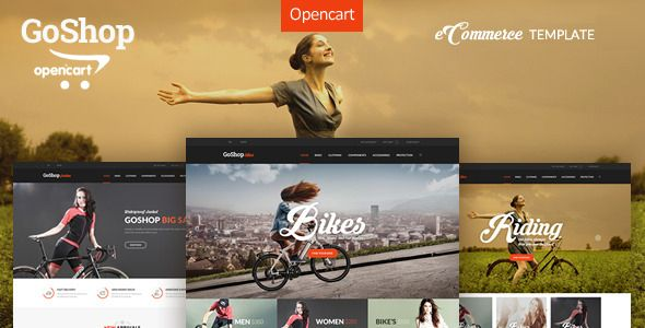 Download Free              GoShop - Premium OpenCart Template            #               bicycle #bike #clean #ecommerce #fashion #fashion store #massage #modern #psd template #psd theme #retail #shop online #shopping #themes