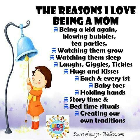 Download The Reasons I Love Being A Mom   Mommy life, Mothers of ...